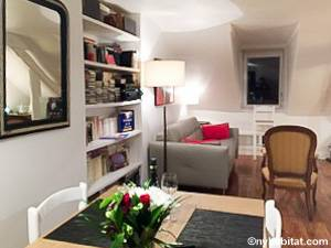 Paris - 1 Bedroom accommodation - Apartment reference PA-2040