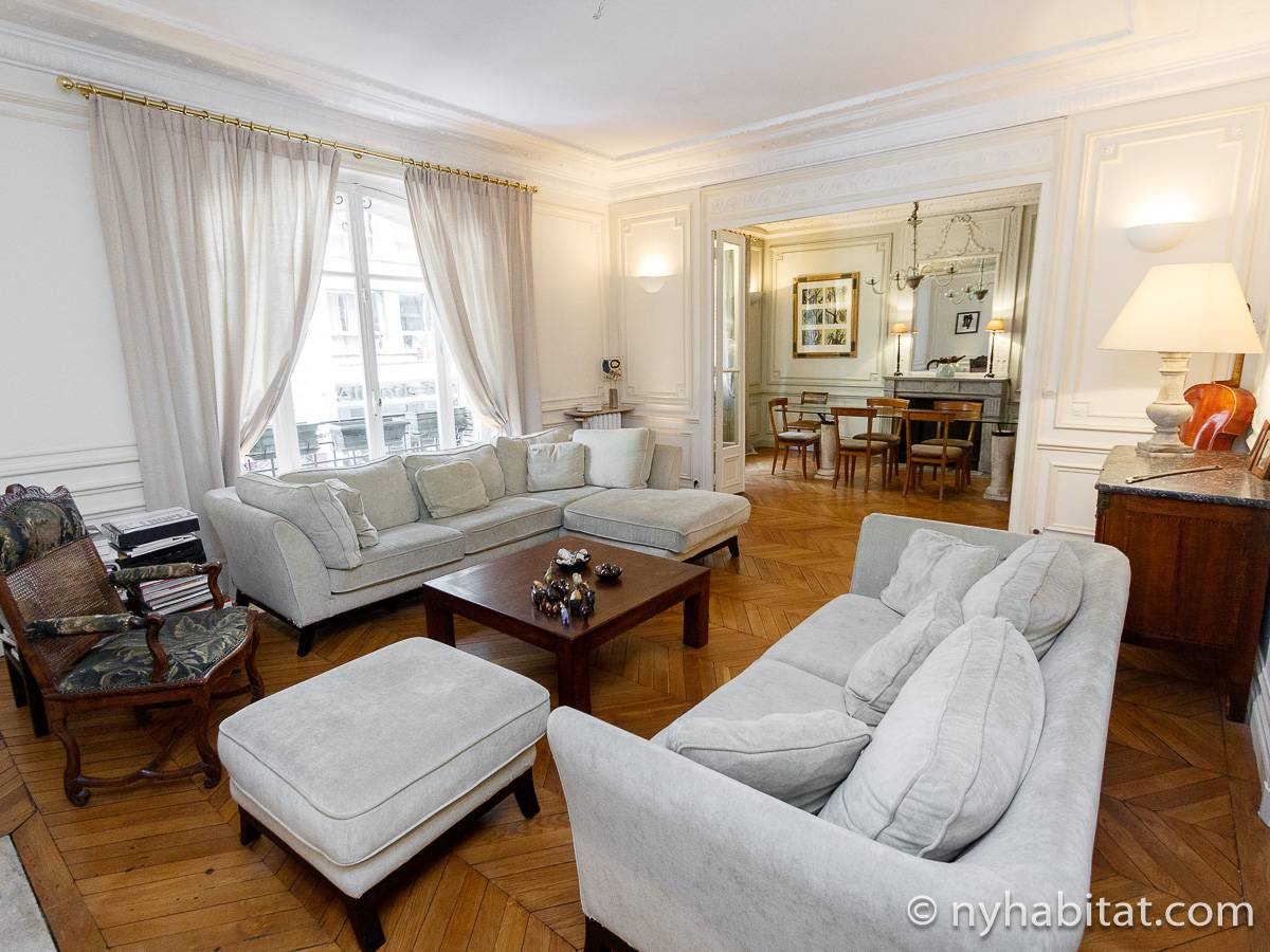 Paris - 4 Bedroom accommodation - Apartment reference PA-2126