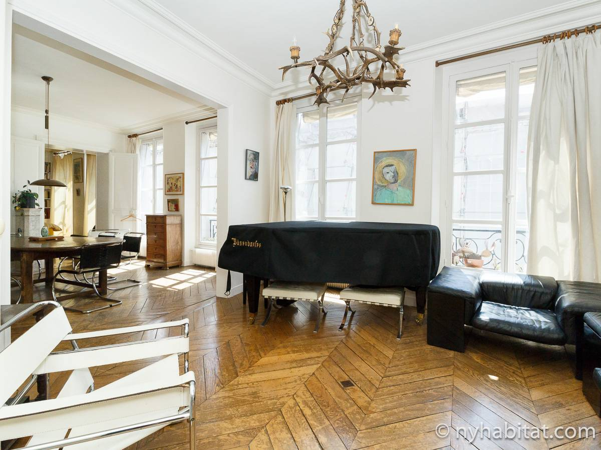 Paris - 2 Bedroom accommodation - Apartment reference PA-2278