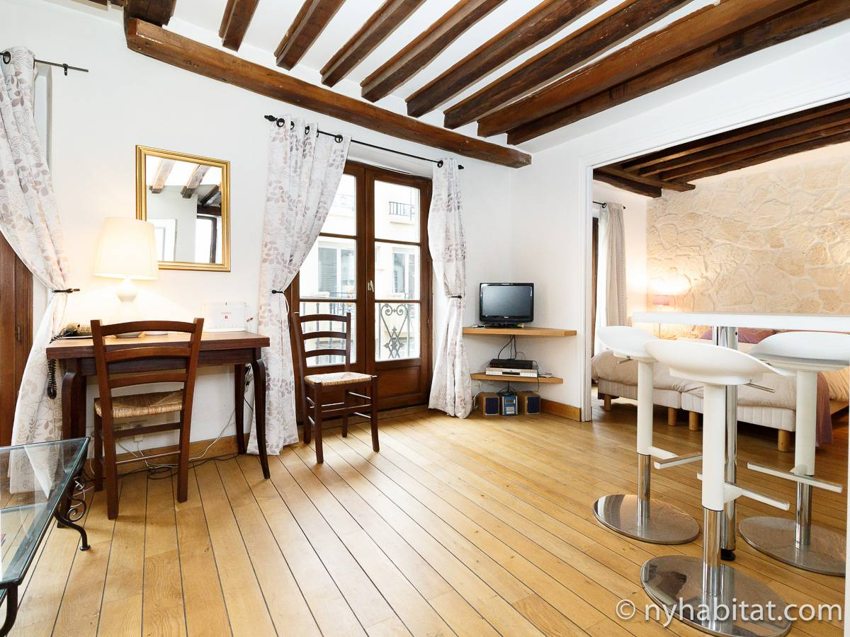 Paris - 1 Bedroom accommodation - Apartment reference PA-2286