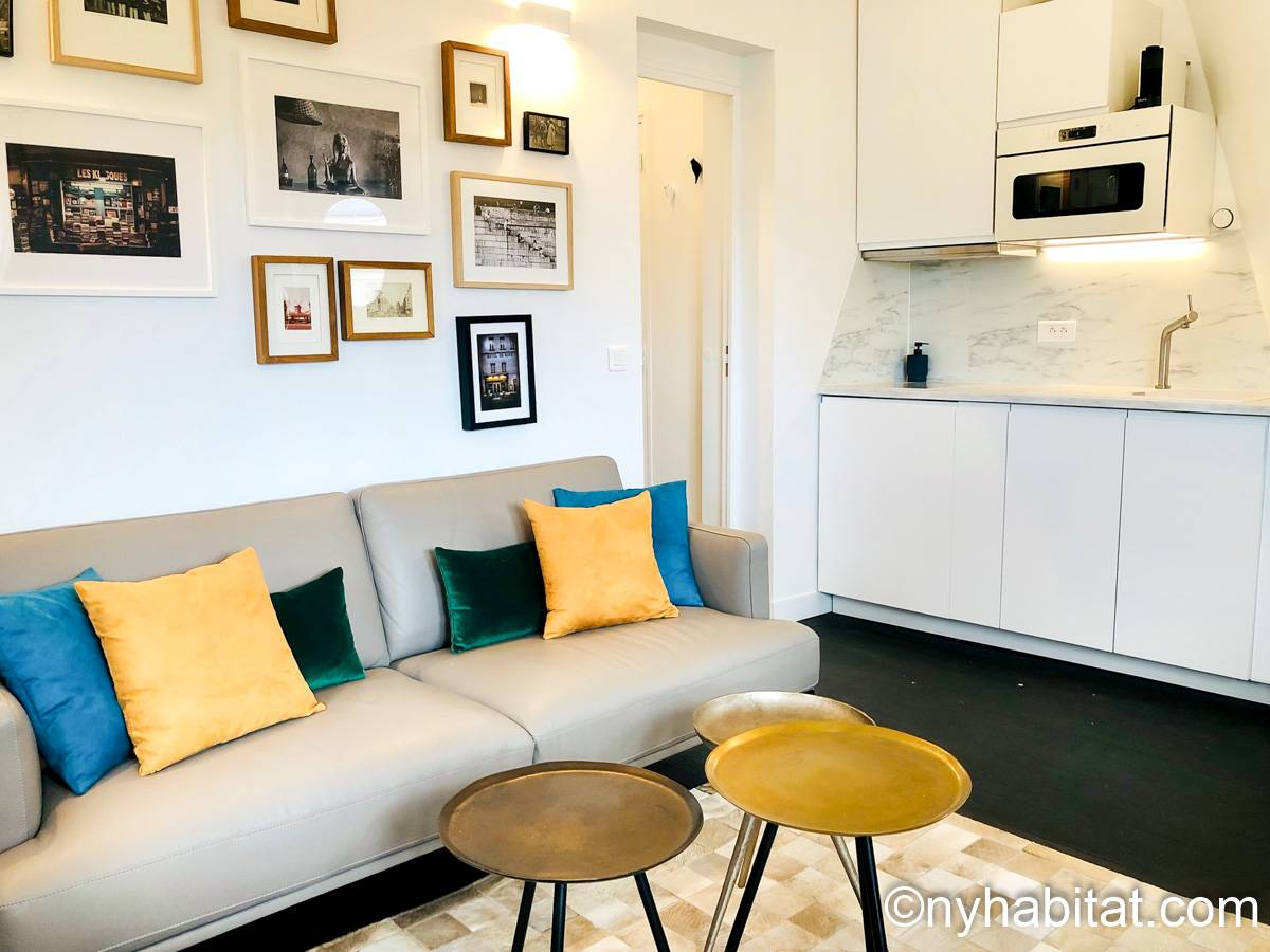 Paris - 1 Bedroom apartment - Apartment reference PA-2289