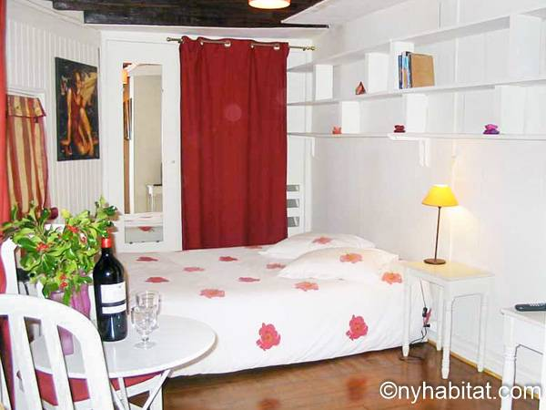 Paris - Studio accommodation - Apartment reference PA-2316