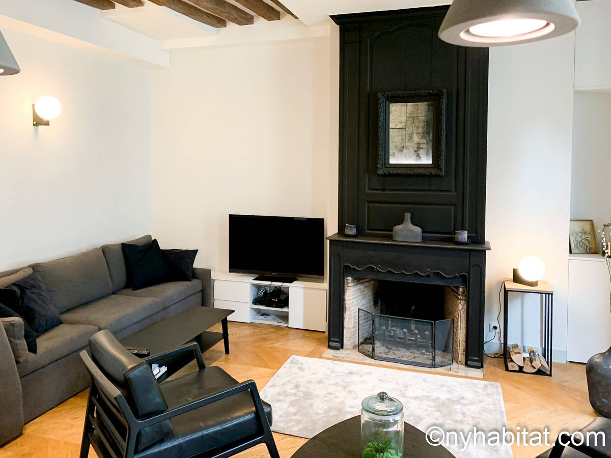 Paris - 2 Bedroom accommodation - Apartment reference PA-2321