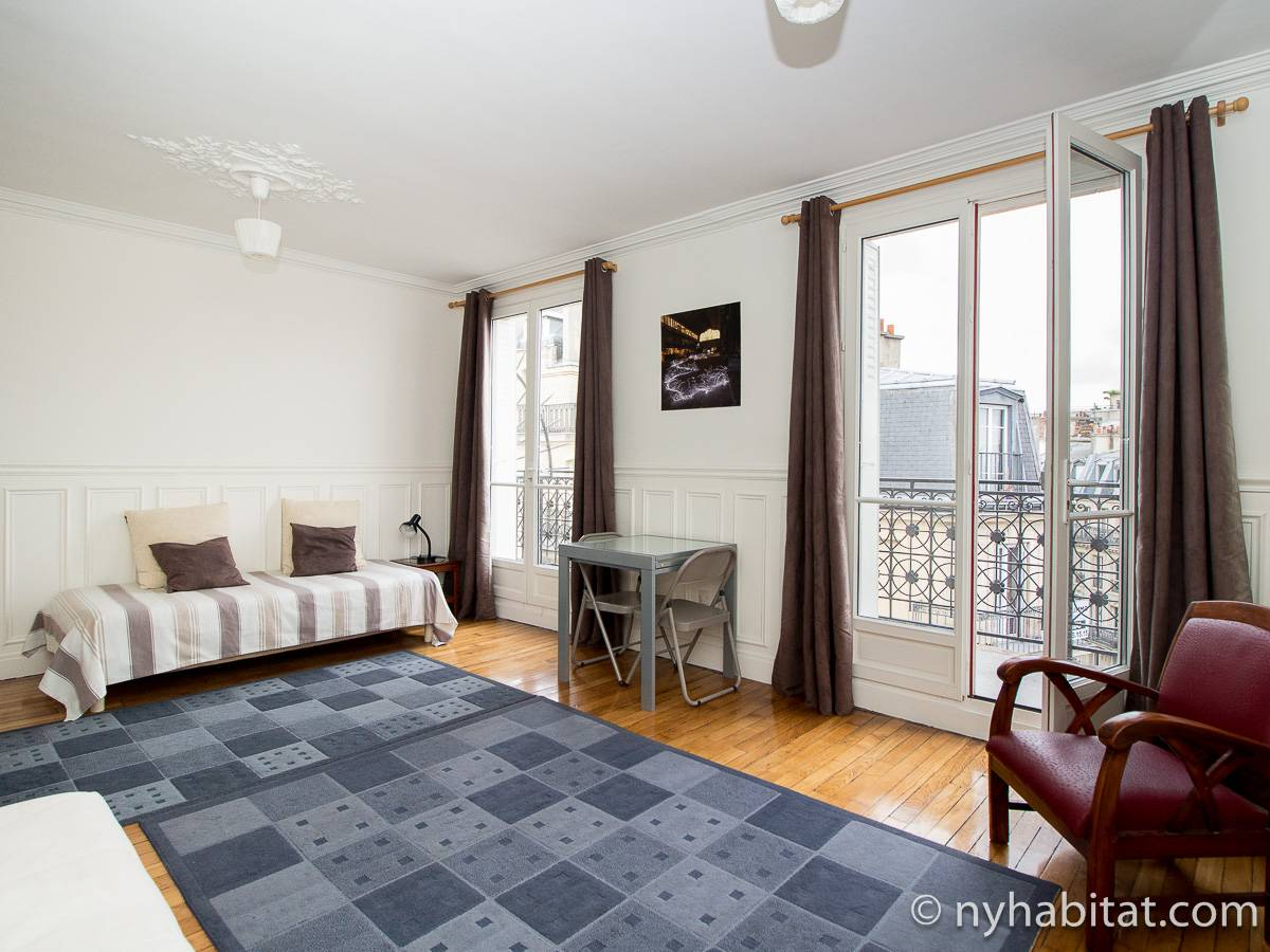 Paris - 1 Bedroom apartment - Apartment reference PA-2534
