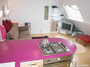 Paris - Studio accommodation - Apartment reference PA-2562