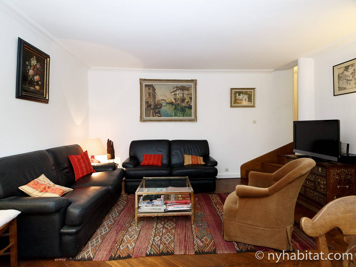 Paris - 1 Bedroom accommodation - Apartment reference PA-2831