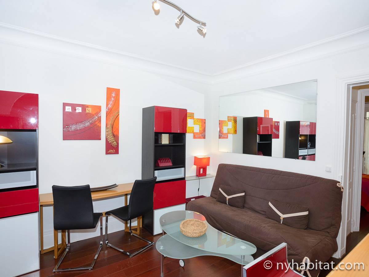 Paris - 1 Bedroom apartment - Apartment reference PA-2867