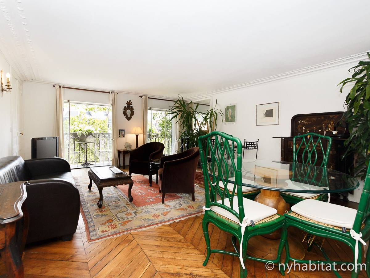 Paris - 2 Bedroom accommodation - Apartment reference PA-2961