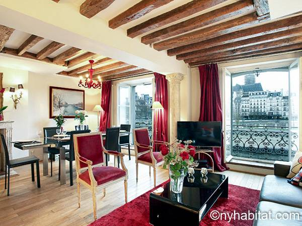 Paris - 3 Bedroom accommodation - Apartment reference PA-3085
