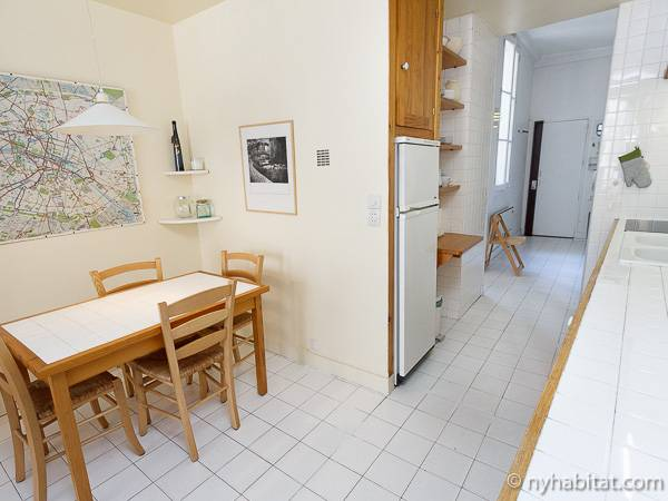 Paris Apartment: 1 Bedroom Apartment Rental in Montorgueil ...
