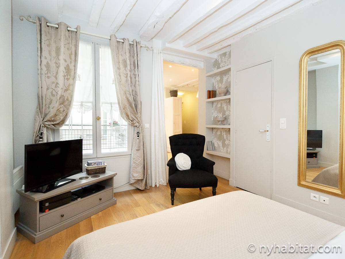 Paris - Alcove Studio apartment - Apartment reference PA-3160