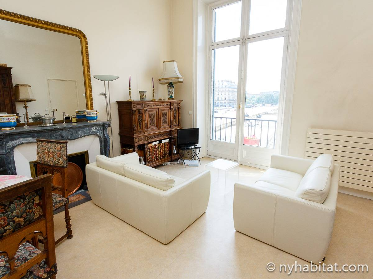 Paris - 2 Bedroom accommodation - Apartment reference PA-3231