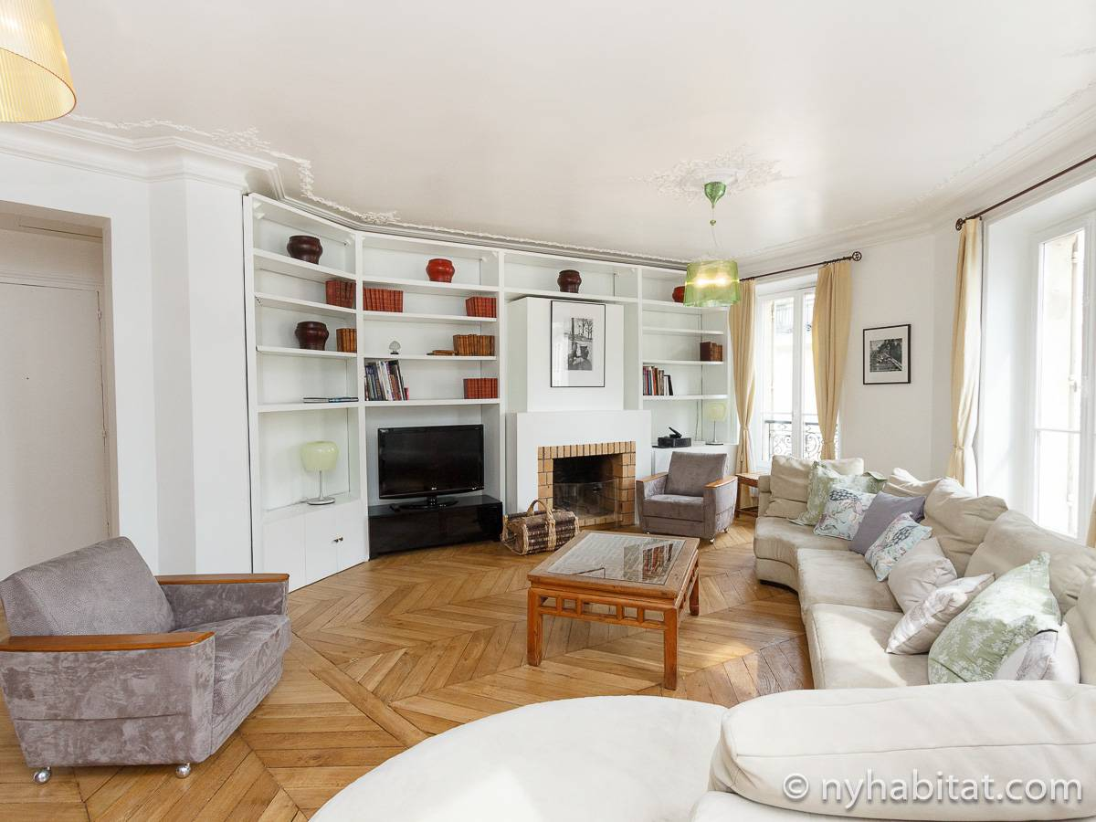 Paris - 3 Bedroom apartment - Apartment reference PA-3300