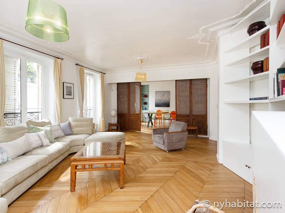 Appartamento a parigi 3 camere da letto le marais pa for Soggiorno a parigi
