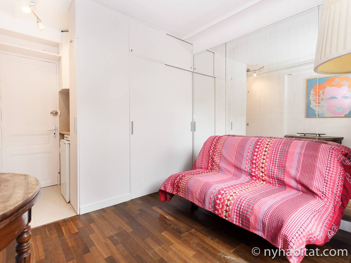 Paris - Studio accommodation - Apartment reference PA-3359