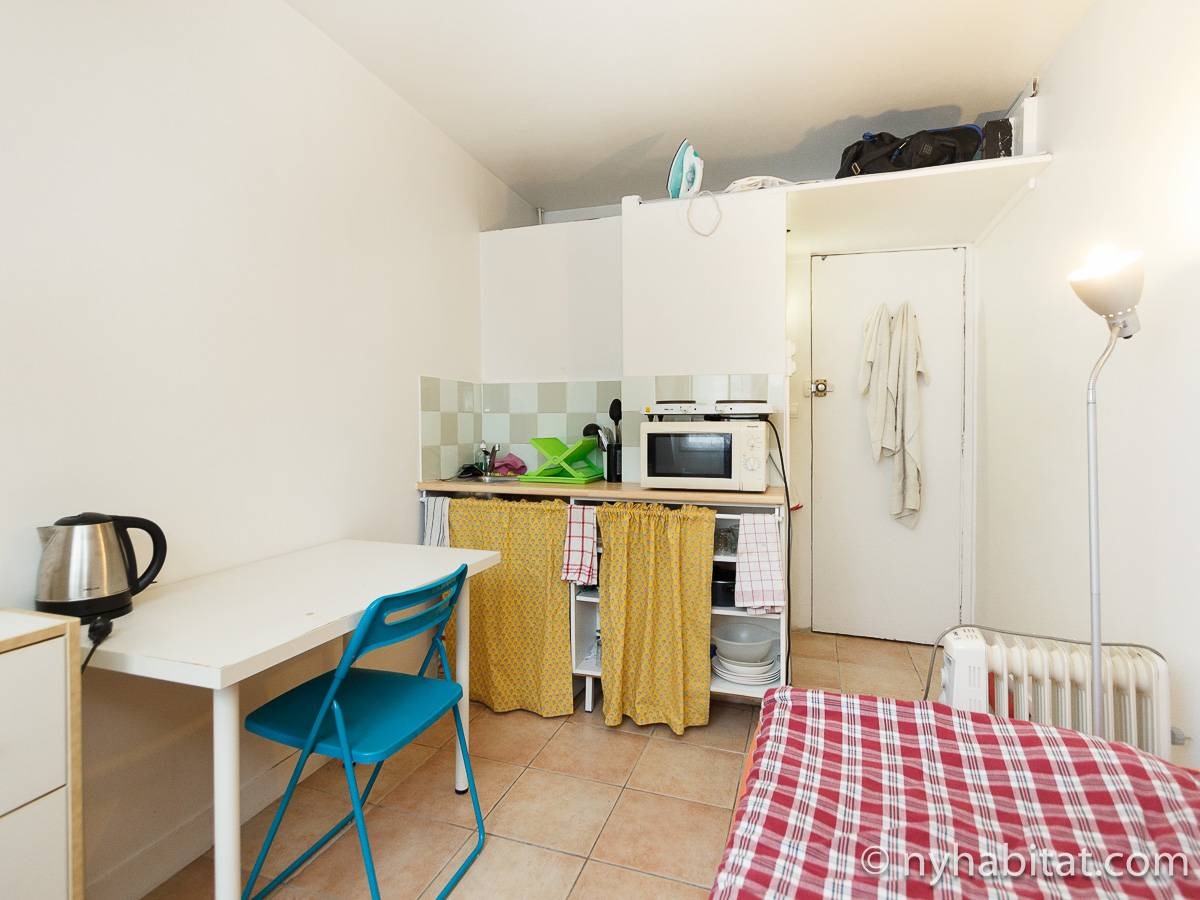 Paris - Studio apartment - Apartment reference PA-3376