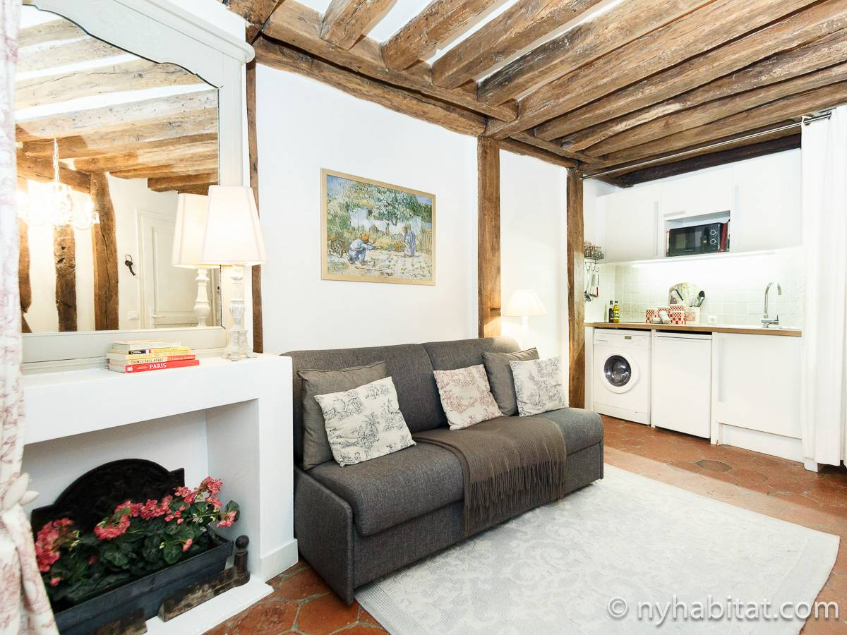 Paris - 1 Bedroom apartment - Apartment reference PA-3379