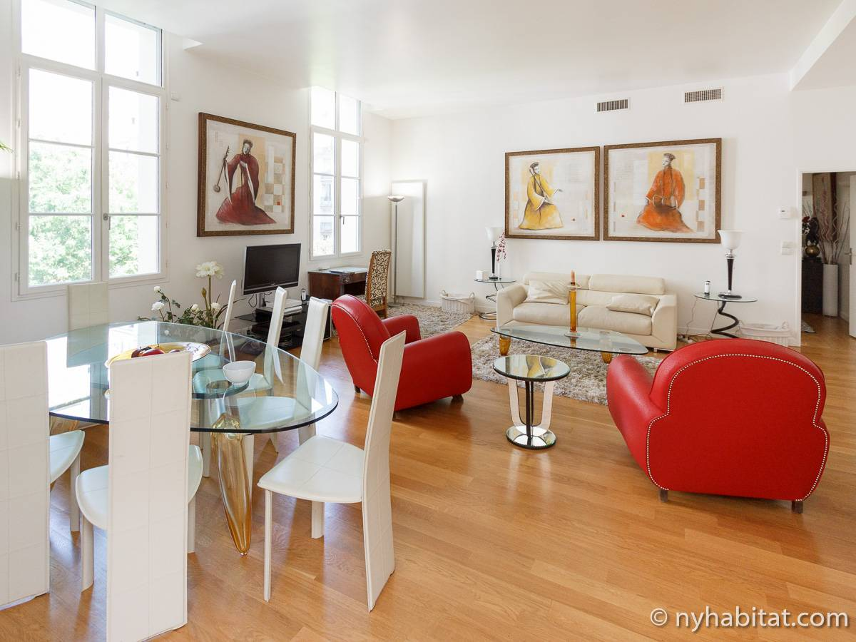 Paris - 3 Bedroom apartment - Apartment reference PA-3406