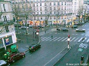 Streets of Paris aroound Viaduc des Art