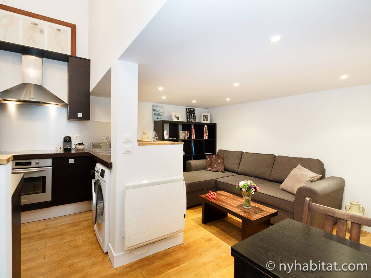 Paris - 1 Bedroom apartment - Apartment reference PA-3460