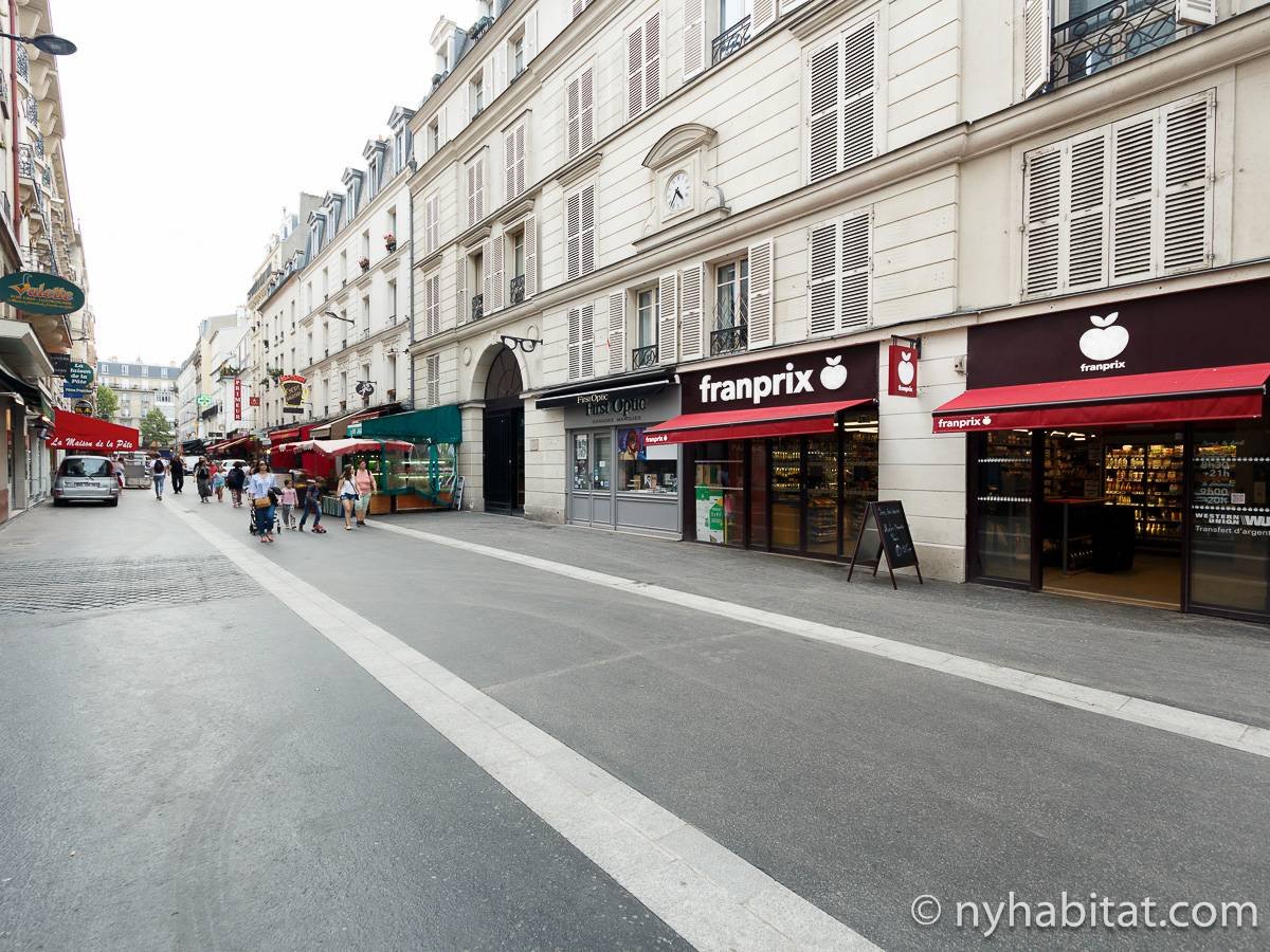 Casa vacanza a parigi monolocale denfert rochereau - Casa vacanza a parigi ...