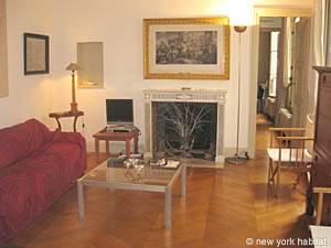 Appartement à Paris, Location de Vacances T2 - Tuileries, Le Louvre - Les Halles - Châtelet (PA-3542)