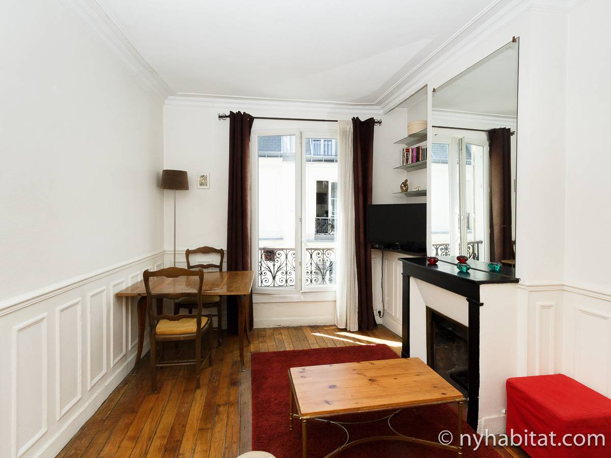 Paris - 1 Bedroom accommodation - Apartment reference PA-3610