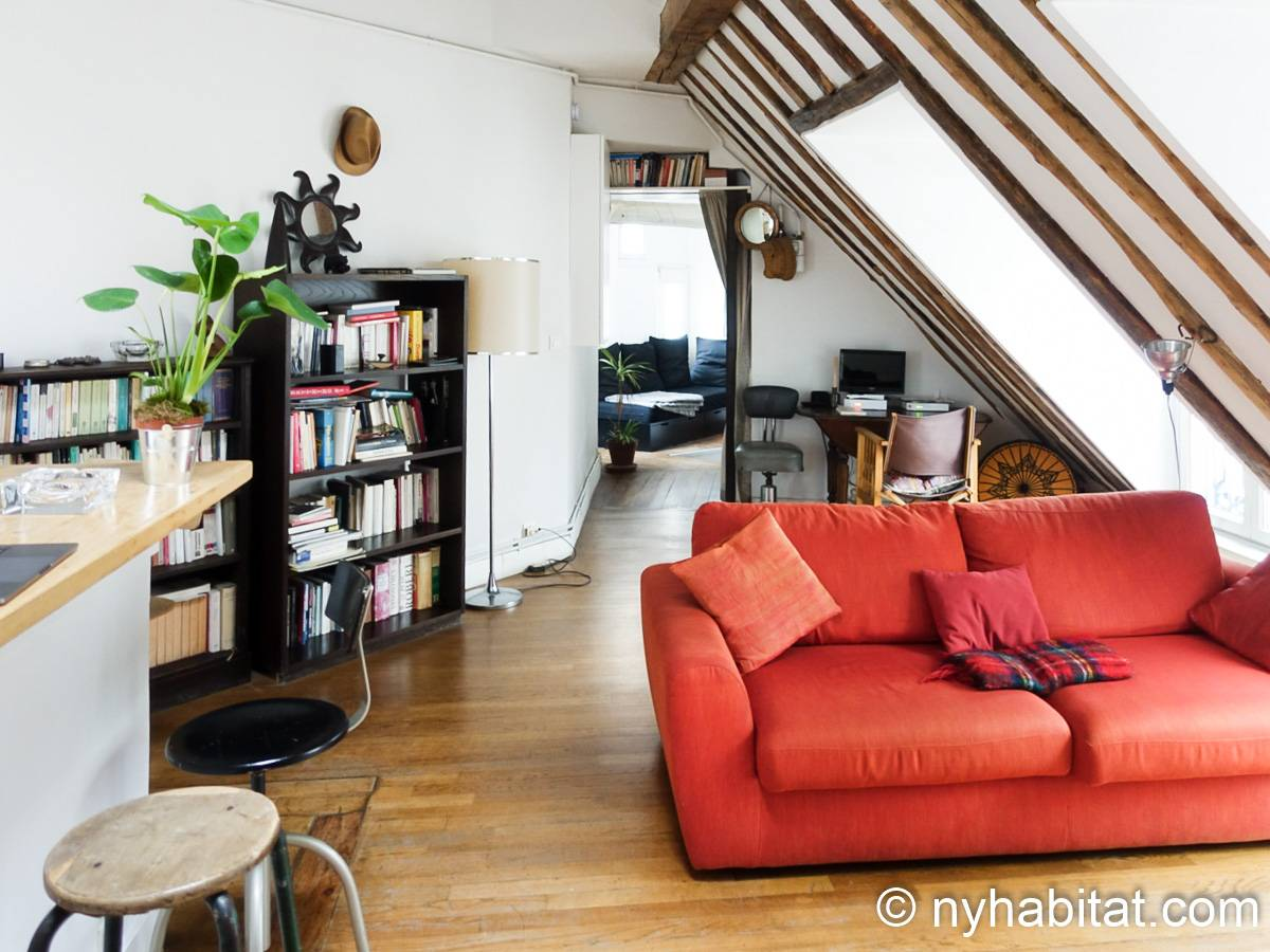 Paris - 1 Bedroom accommodation - Apartment reference PA-3780