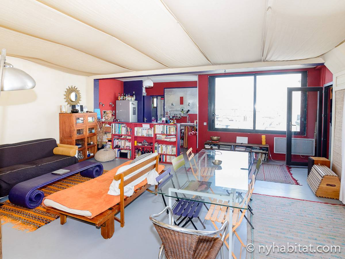 Paris - 2 Bedroom accommodation - Apartment reference PA-3792