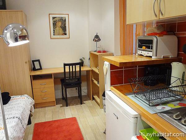 Paris - Studio apartment - Apartment reference PA-3809
