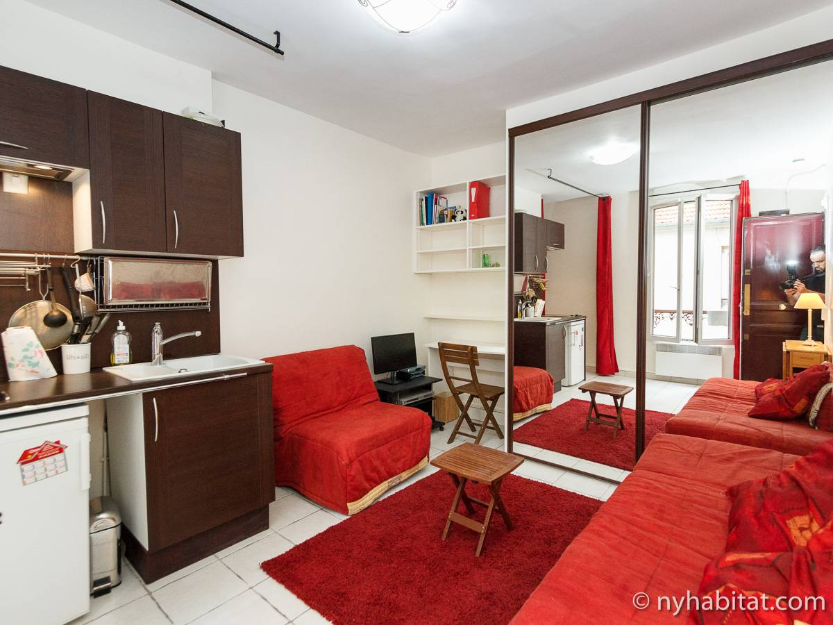 Paris - Alcove Studio apartment - Apartment reference PA-3824
