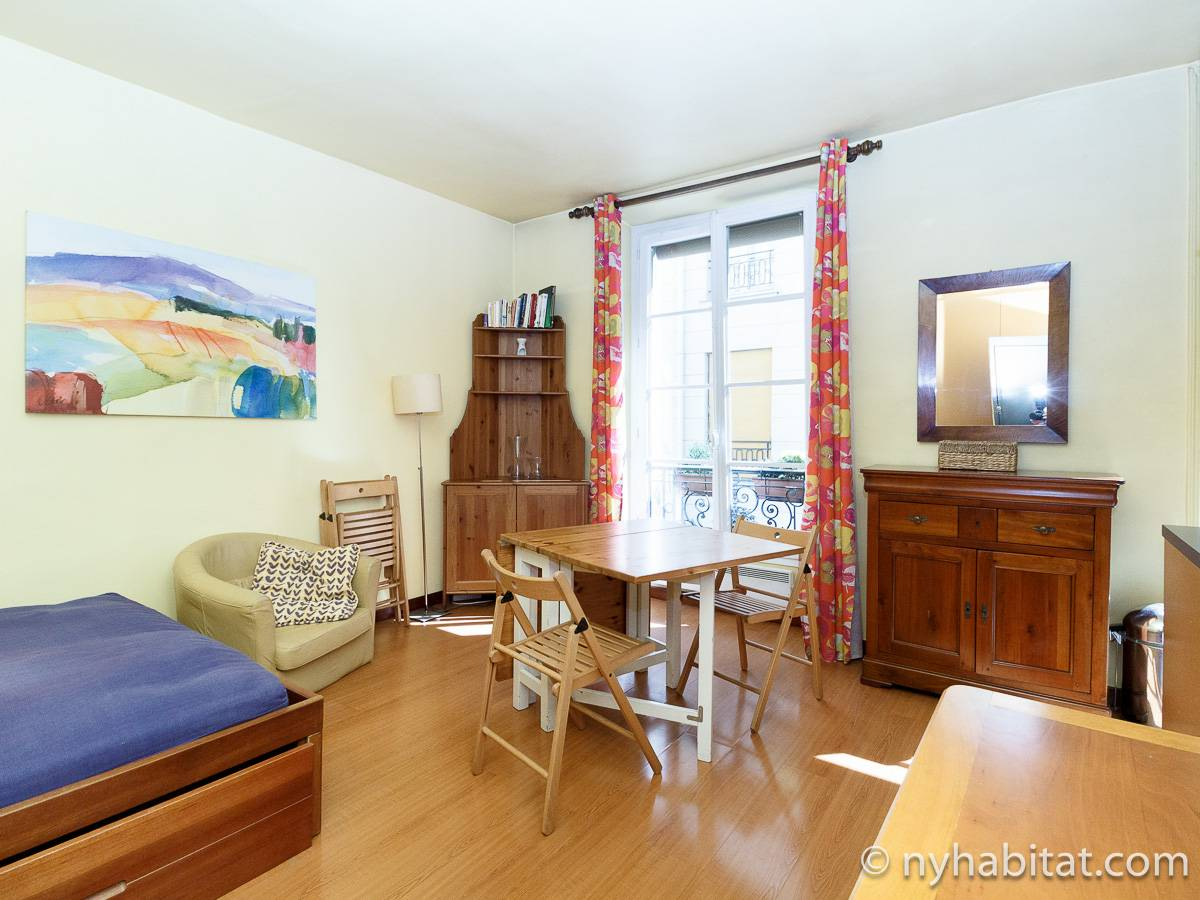 Paris - Studio apartment - Apartment reference PA-3845