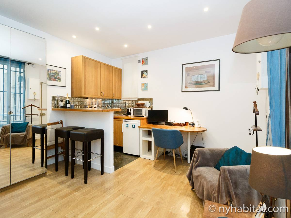 Paris - Studio apartment - Apartment reference PA-3846