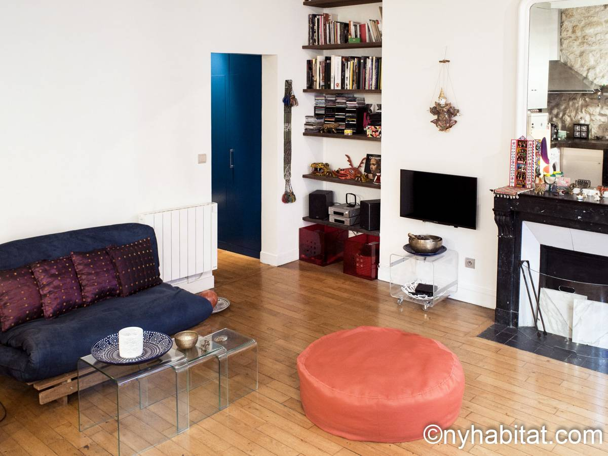 Paris - 1 Bedroom apartment - Apartment reference PA-3889