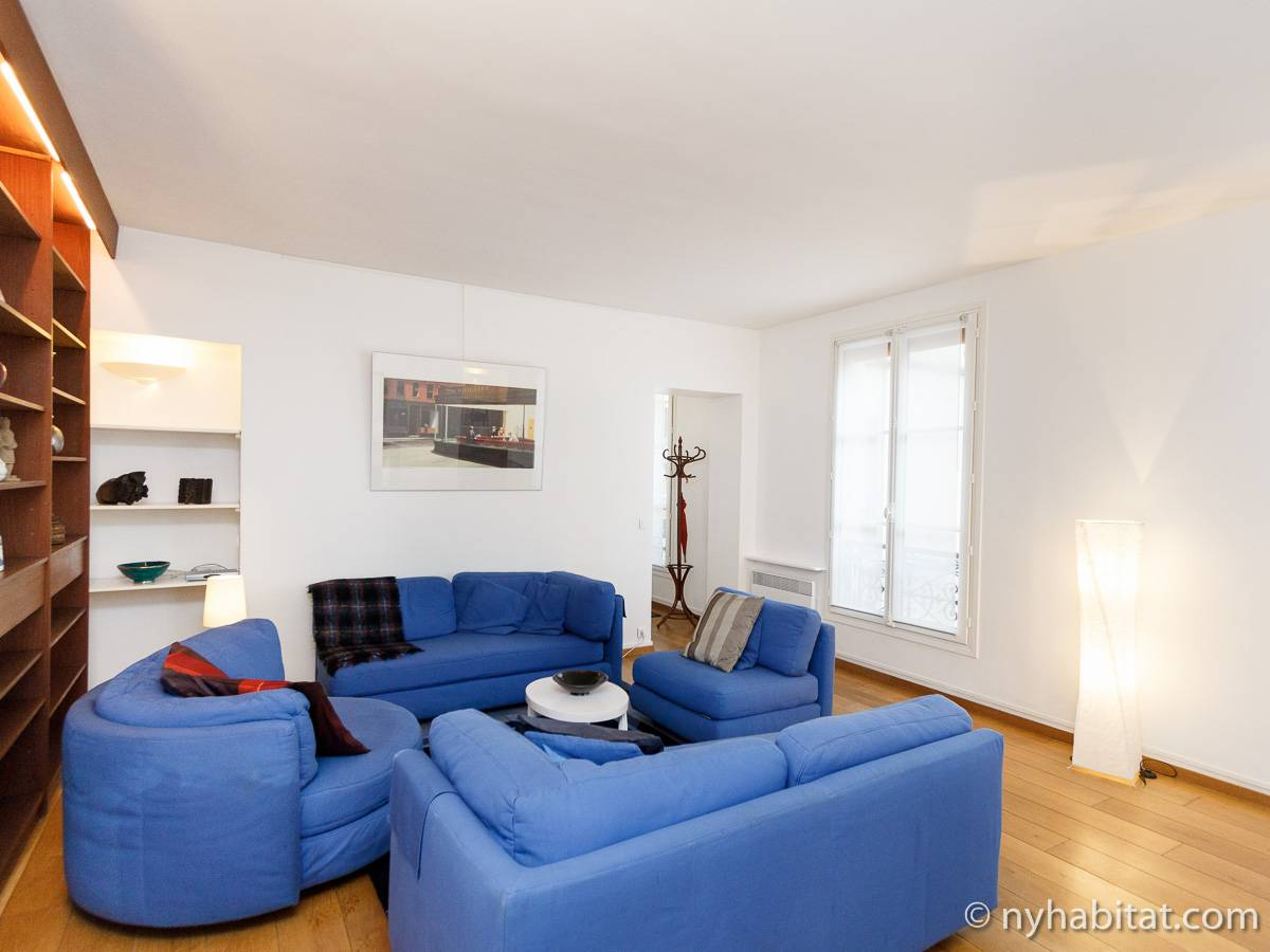 Paris - 2 Bedroom apartment - Apartment reference PA-4075