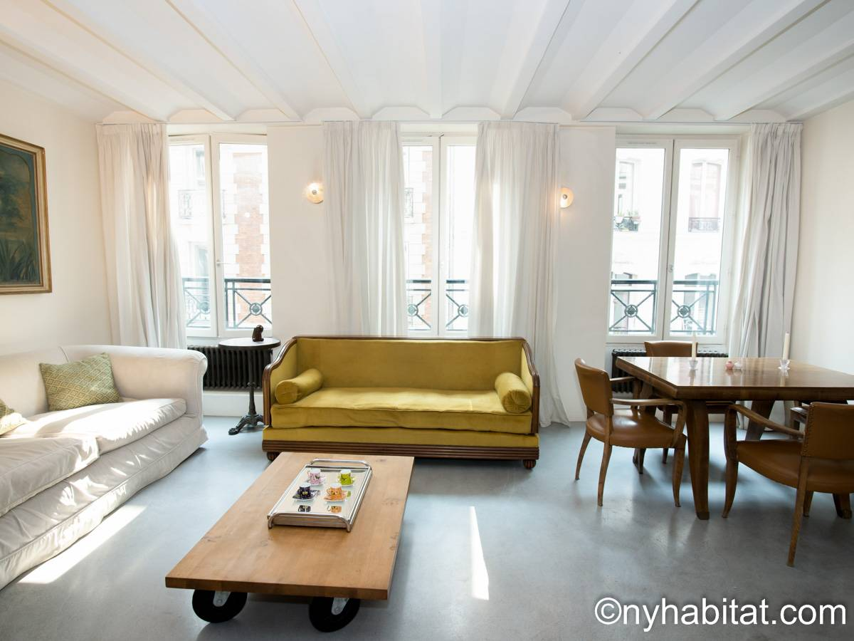 Paris - 2 Bedroom apartment - Apartment reference PA-4099