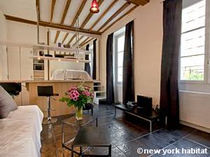 Paris - Alcove Studio accommodation - Apartment reference PA-4180