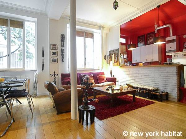 Paris - 2 Bedroom accommodation - Apartment reference PA-4187