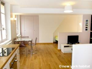 Paris - Alcove Studio accommodation - Apartment reference PA-4251