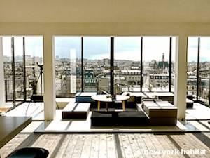 Paris Accommodation 1 Bedroom Rental in Grands Boulevards, Canal Saint Martin - Gare du Nord - Gare de l'Est (PA-4278)