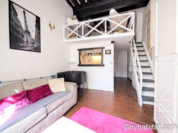 Paris - Alcove Studio accommodation - Apartment reference PA-4319