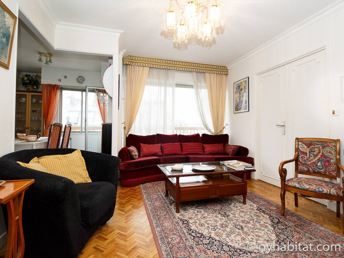 Paris - 2 Bedroom accommodation - Apartment reference PA-4320