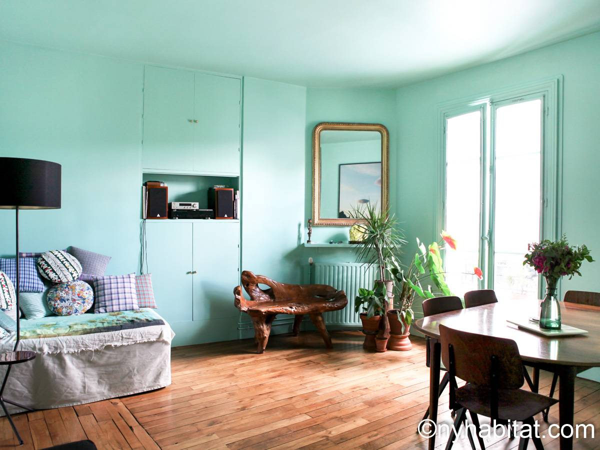 Paris - 1 Bedroom accommodation - Apartment reference PA-4386