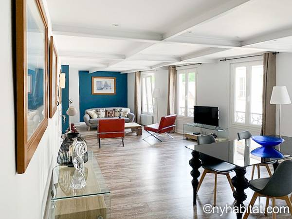 Paris - 2 Bedroom accommodation - Apartment reference PA-4393