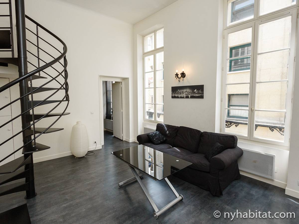 Paris - 1 Bedroom apartment - Apartment reference PA-4396
