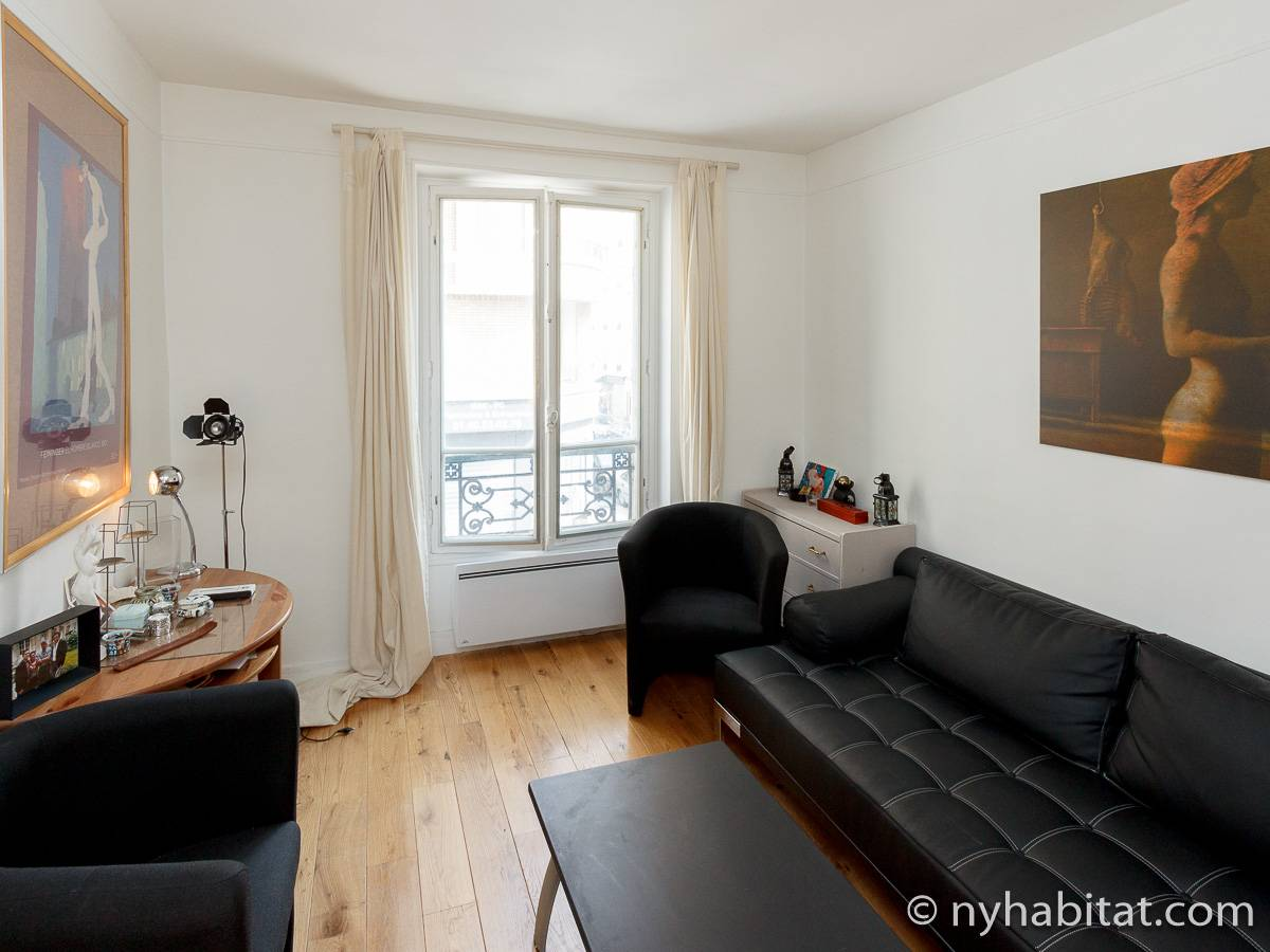 Paris - 1 Bedroom accommodation - Apartment reference PA-4403