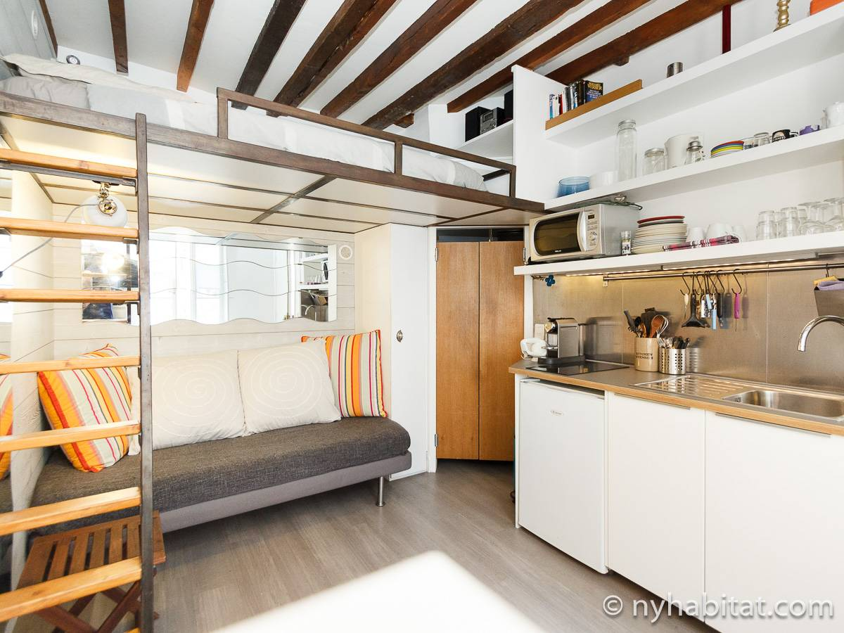 Paris - Studio apartment - Apartment reference PA-4424