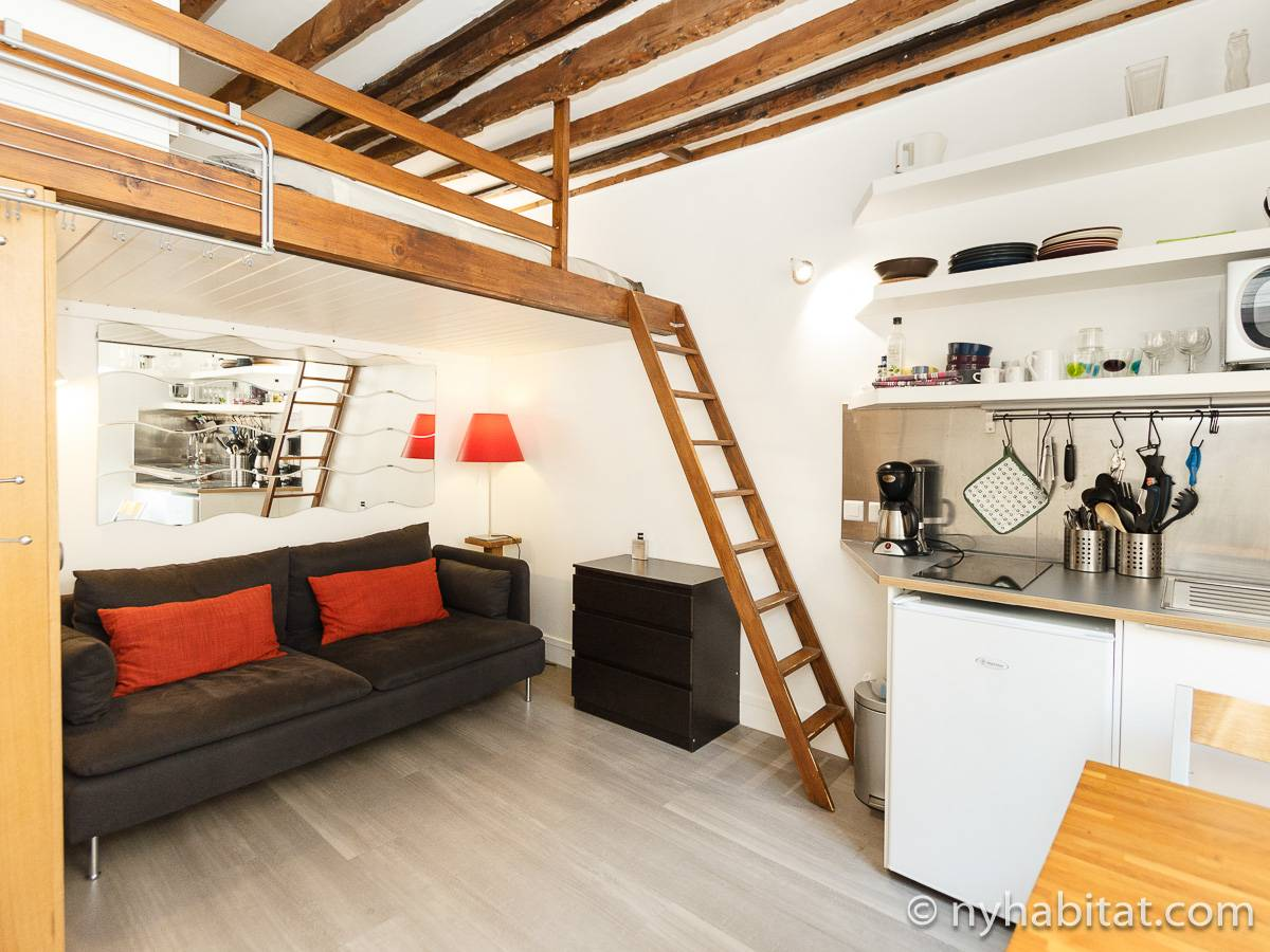 Paris - Studio apartment - Apartment reference PA-4425