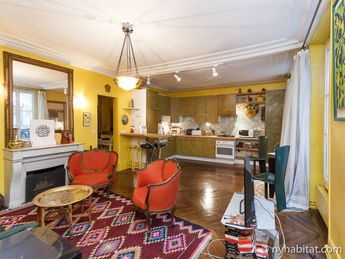 Casa vacanza a parigi 2 camere da letto pigalle op ra grands boulevards clichy pa 4431 - Posto letto parigi ...