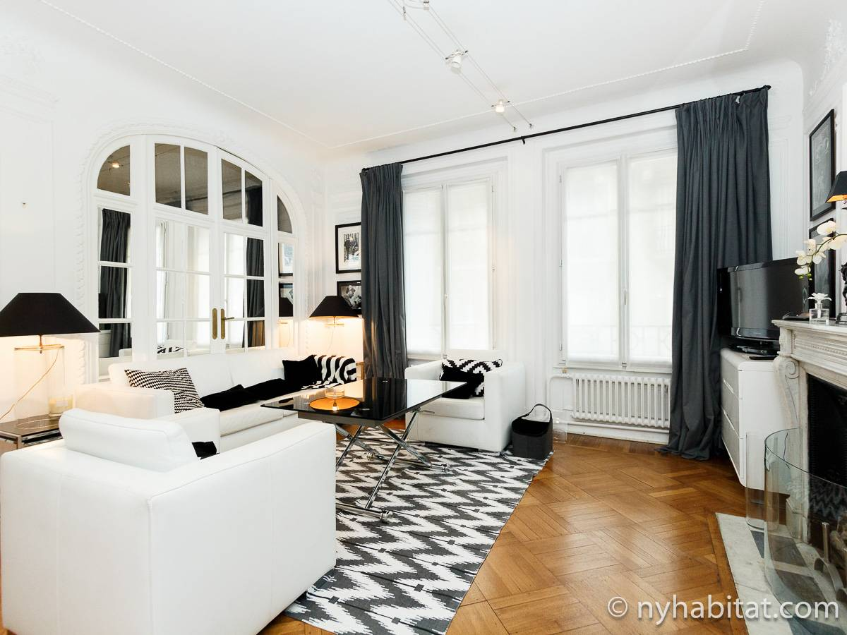 Paris - 2 Bedroom accommodation - Apartment reference PA-4443